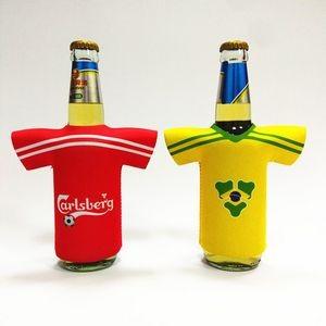 Kolder NCAA U of Wisconsin Glitter Bottle Coolie Multicolor One Size